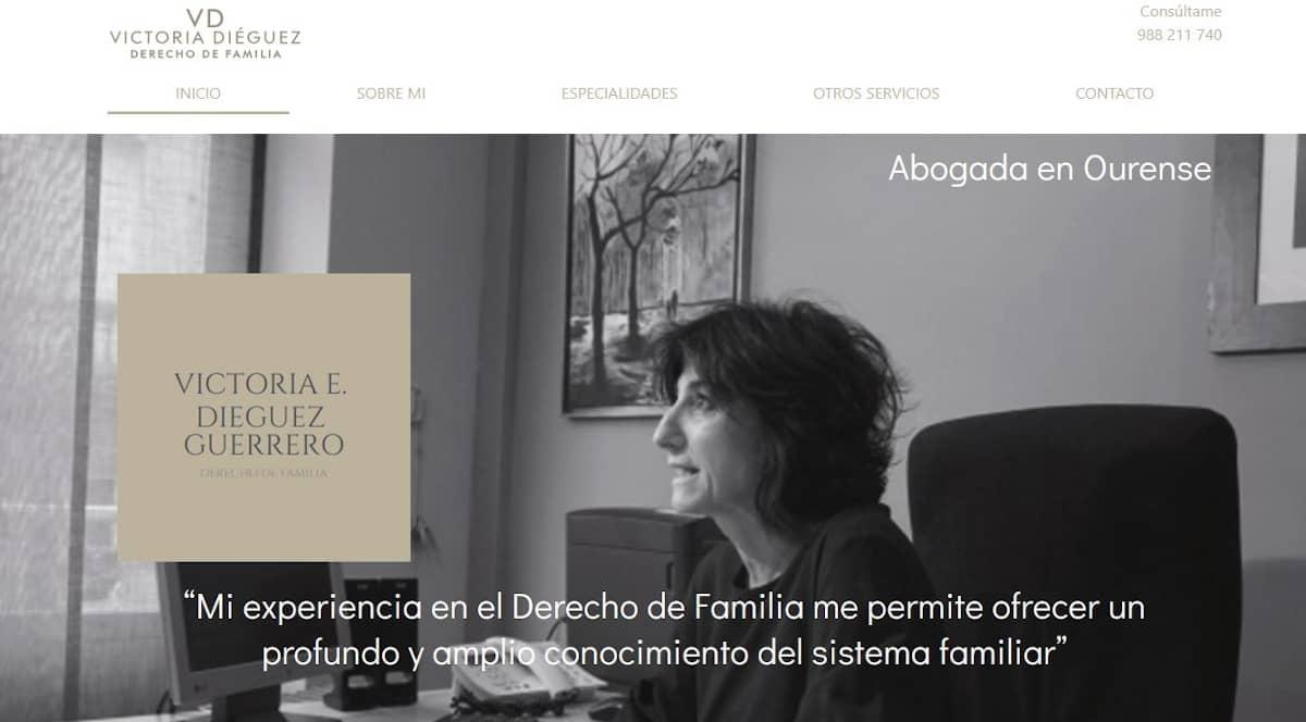 Abogada Familia Victoria Dieguez Ourense